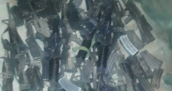 ¡ESTO INAUDITO! Armas robadas de la Guardia de Honor en Aragua estaban enterradas en Cartanal