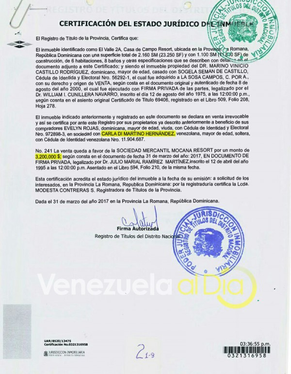 Casa-Tareck-William-Saab-contrato