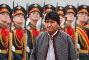 Bolivian President Evo Morales visits Moscow