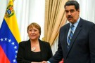 ¡UN MODELO A SEGUIR! Maduro: Bachelet miente descaradamente sobre Venezuela